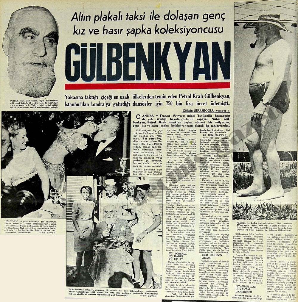 Hasır şapka koleksiyoncusu Gülbenkyan