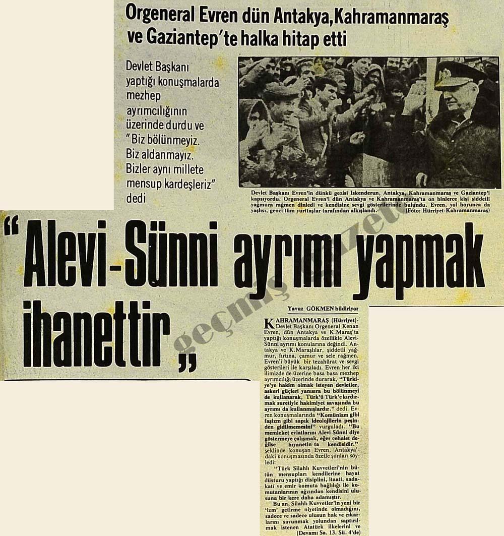 """""""Alevi-Sünni ayrımı yapmak ihanettir"""""""