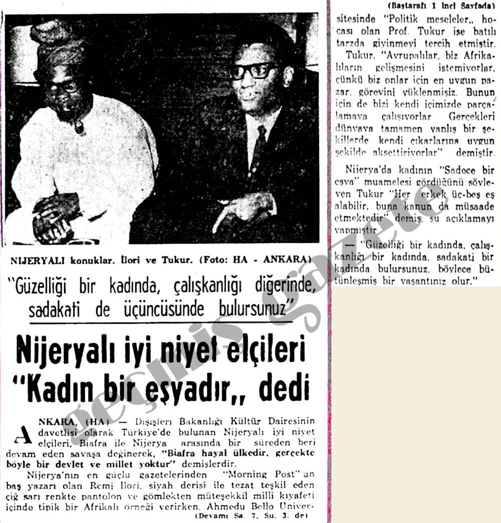 """Nijeryalı iyi niyet elçileri """"Kadın bir eşyadır"""" dedi"""