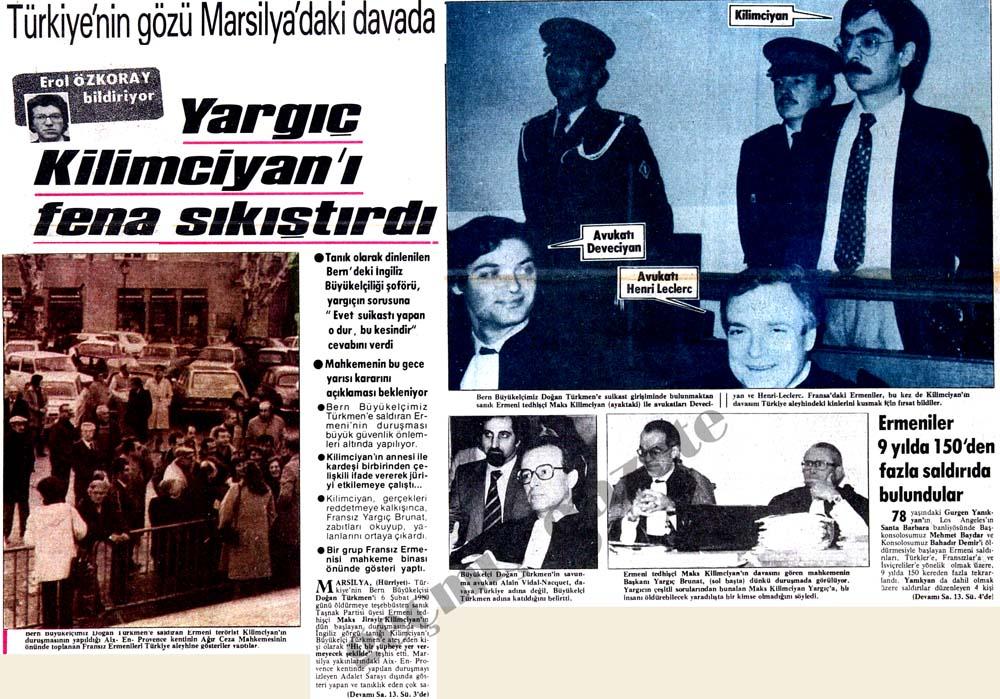 Türkiye'nin gözü Marsilya'daki davada
