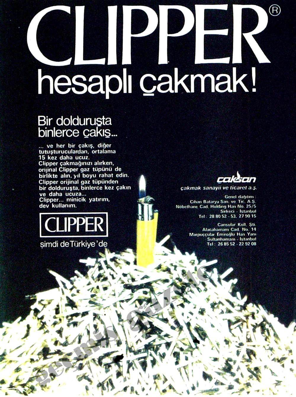 Clipper hesaplı çakmak!