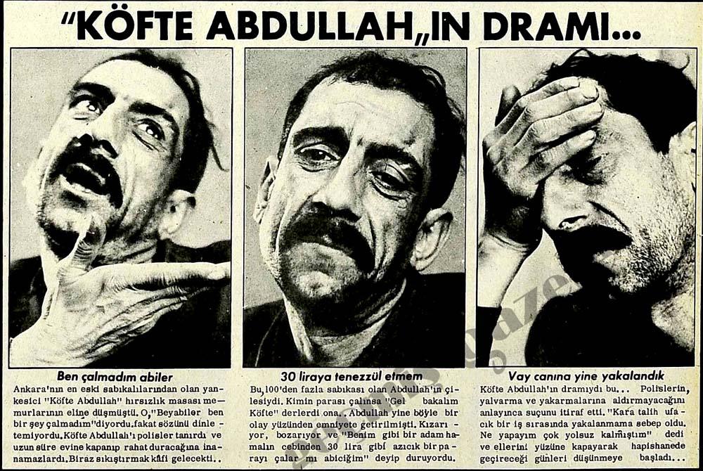 """""""Köfte Abdullah""""ın Dramı..."""
