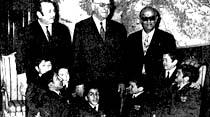 Cevdet Sunay nihayet 7 Cüceleri de kabul etti
