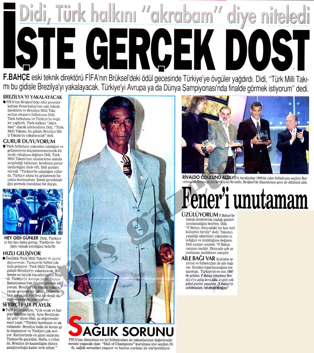 """İşte gerçek dost: Didi, Türk halkını """"akrabam"""" diye niteledi"""