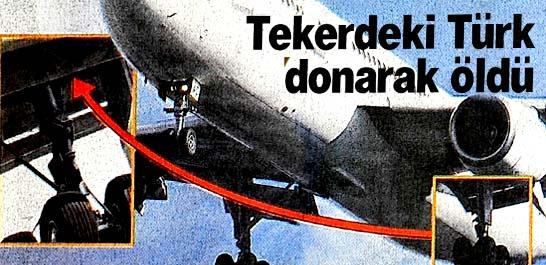 Tekerdeki Türk donarak öldü