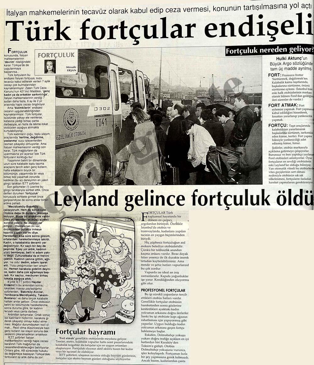 Türk fortçular endişeli