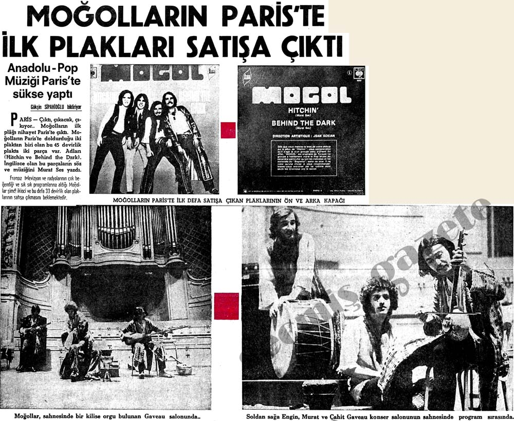 Anadolu-Pop Müziği Paris'te sükse yaptı