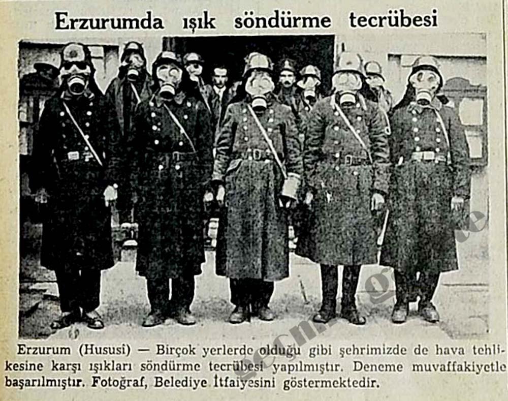 Erzurumda ışık söndürme tecrübesi