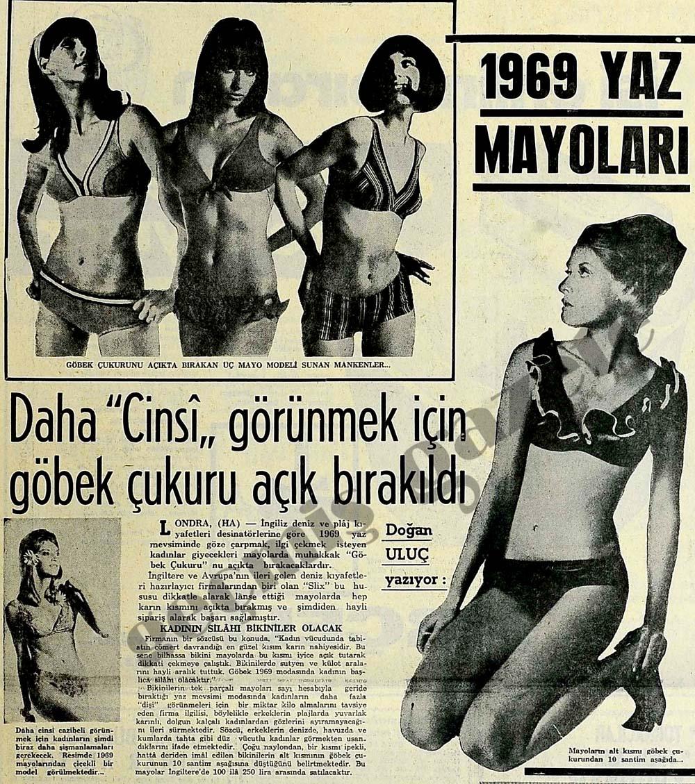 1969 yaz mayoları