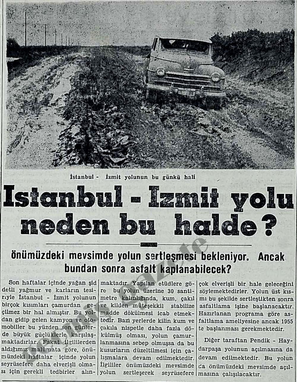 İstanbul - İzmit yolu neden bu halde?