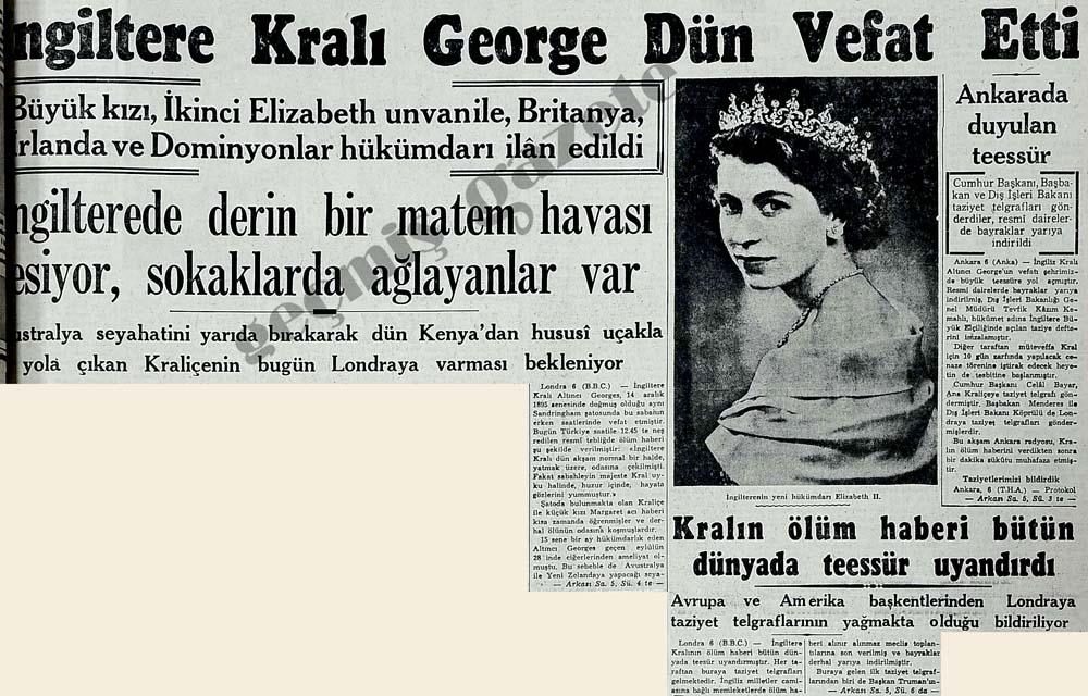 İngiltere Kralı George Dün Vefat Etti