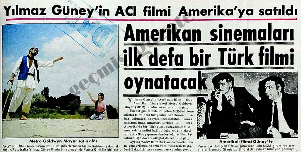 Amerikan sinemaları ilk defa bir Türk filmi oynatacaklar