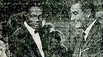 Meşhur şarkıcı Nat King Cole dün öldü