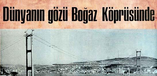 İstanbul Köprüsü 14 ulusun delegesine örnek gösterildi