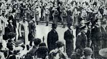 Kral VI. George'un Dünkü Cenaze Töreni