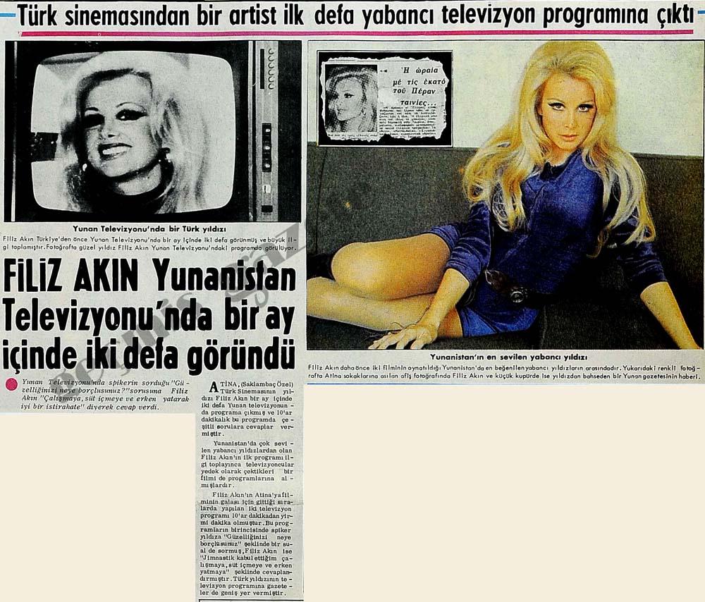 Türk sinemasından bir artist ilk defa yabancı televizyon programına çıktı