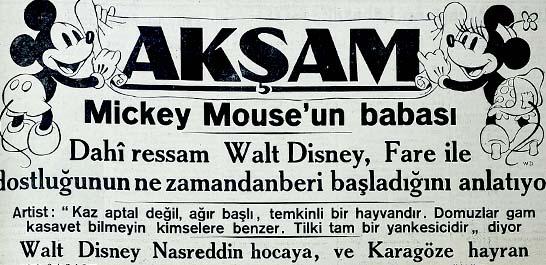 Mickey Mouse'un babası