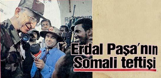 Erdal Paşa'nın Somali teftişi