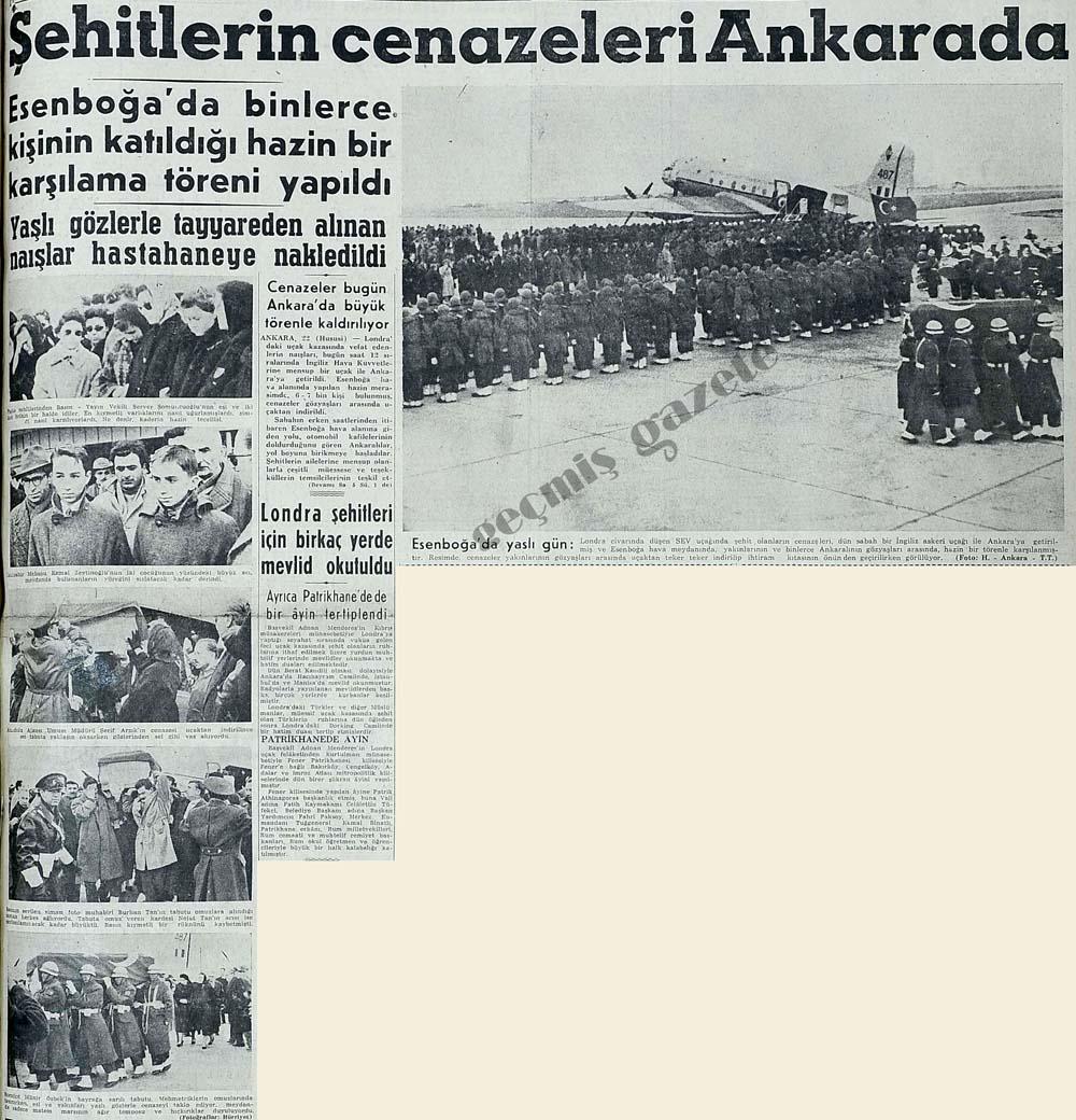 Şehitler cenazeleri Ankarada