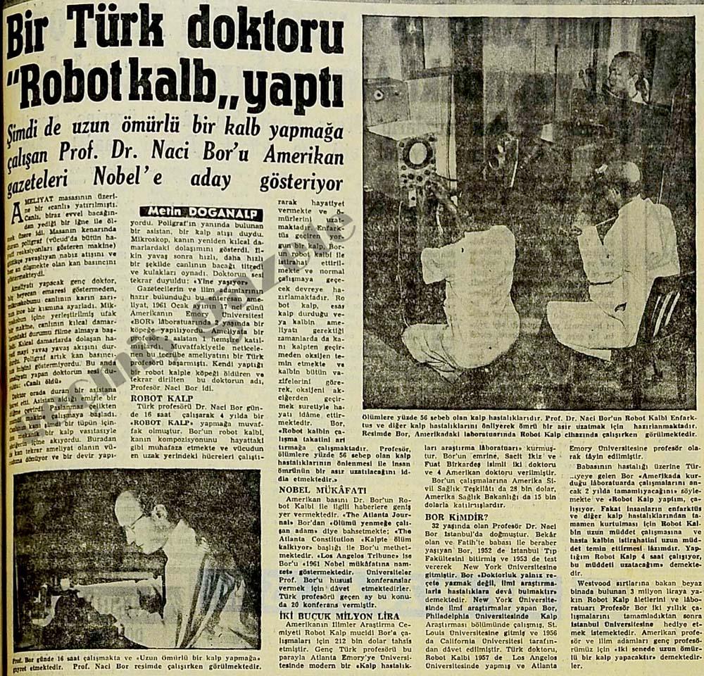 """Bir Türk doktoru """"Robot kalb"""" yaptı"""