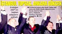 Erdoğan AKP'nin başkan adaylarını açıkladı