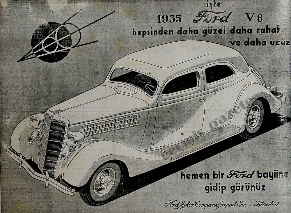 İşte 1935 Ford V8