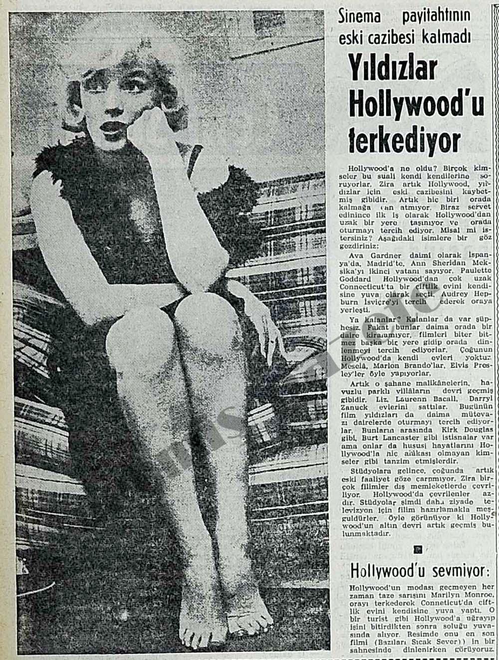 Sinema payitahtının eski cazibesi kalmadı Yıldızlar Hollywood'u terkediyor