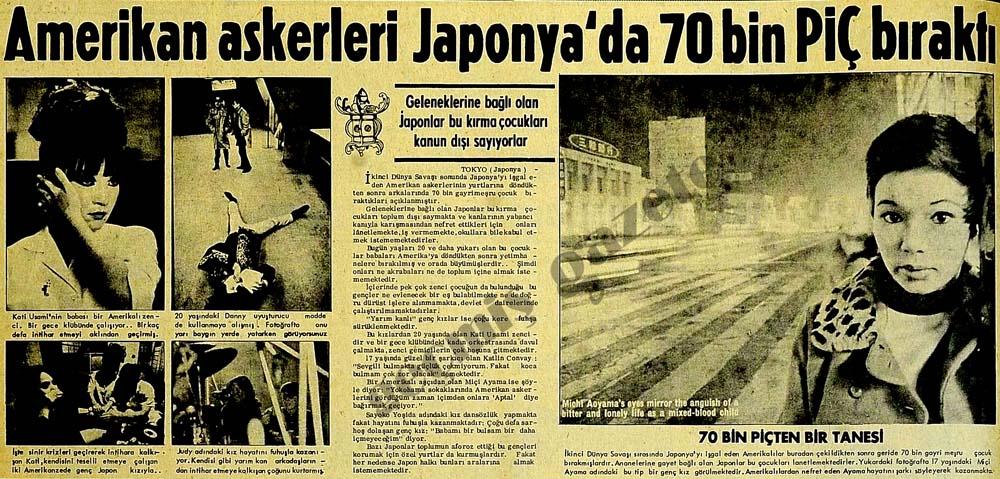 Amerikan askerleri Japonya'da 70 bin PİÇ bıraktı