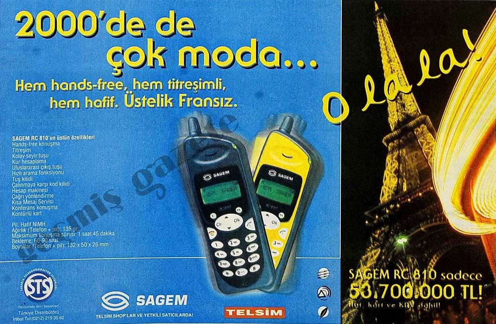 2000'de de çok moda...