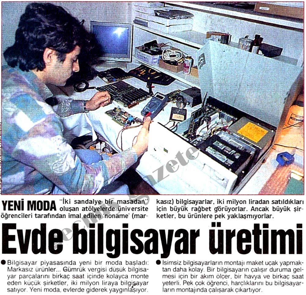 Evde bilgisayar üretimi