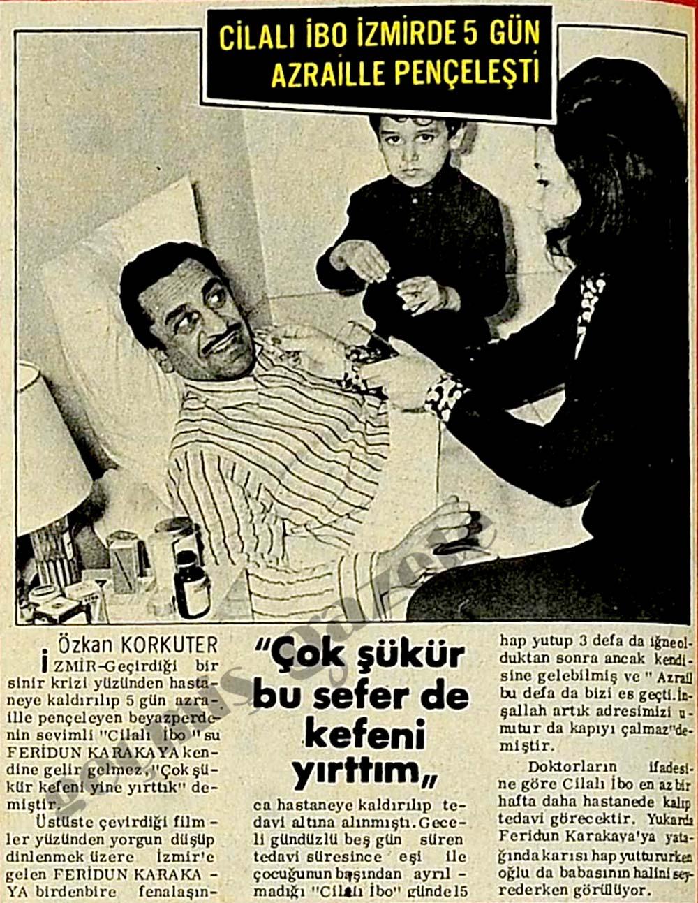 Cilalı İbo İzmirde 5 gün Azraille pençeleşti