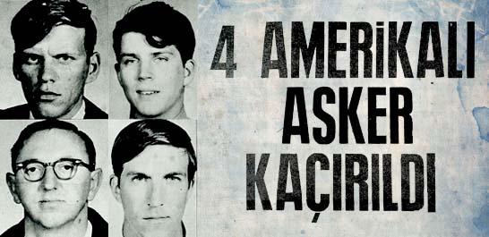 4 Amerikalı asker kaçırıldı