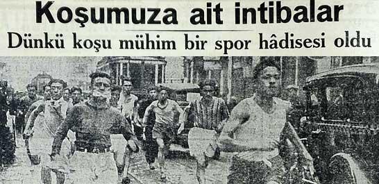 Dünkü koşu mühim bir spor hadisesi oldu