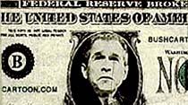 Başkan Bush artık e-postalarda dolaşıyor