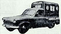 Yük kamyonetinden ambulans yapılıyor