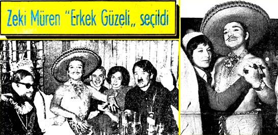 """Zeki Müren """"Erkek Güzeli"""" seçildi"""
