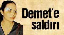 Demet Sağıroğlu'na saldırı