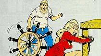 """Karısını daha rahat dövmek içın """"Dayak makinesi"""" yaptı"""