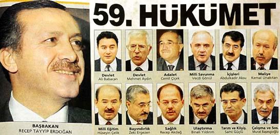 Sezer'in onayladığı ikinci AK Parti hükümeti