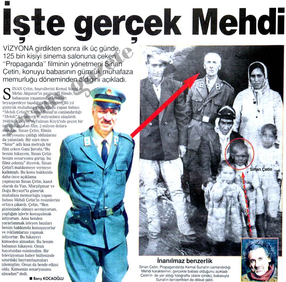 İşte gerçek Mehdi