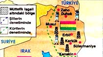 Kerkük petrolü Kürtlere geçti