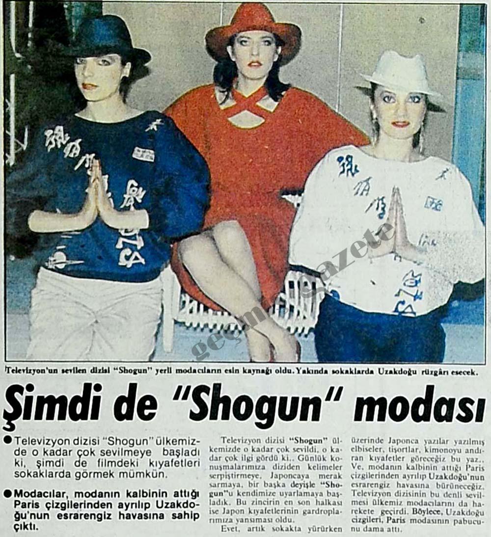 """""""Shogun"""" modası"""