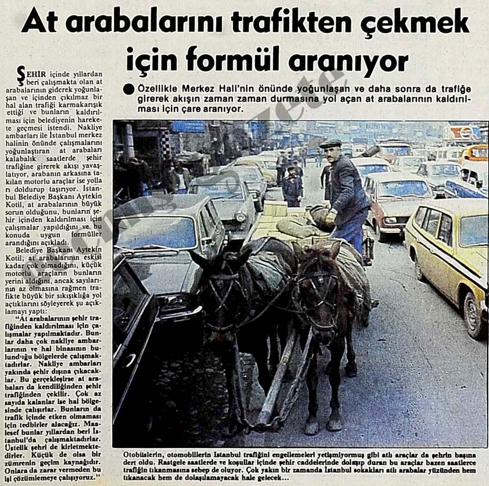 At arabalarını trafikten çekmek için formül aranıyor