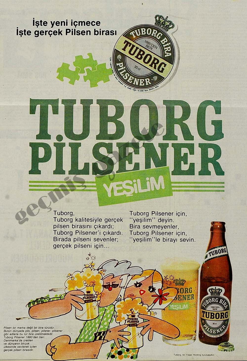 Tuborg Pilsener Yeşilim