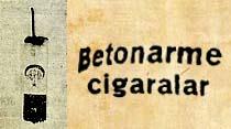 Betonarme cigaralar
