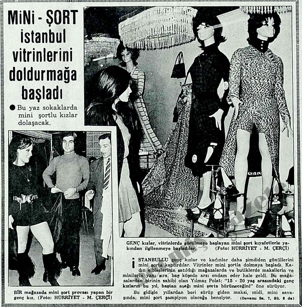 Mini-Şort İstanbul vitrinlerini doldurmağa başladı