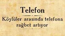 Köylüler arasında telefona rağbet giderek artıyor