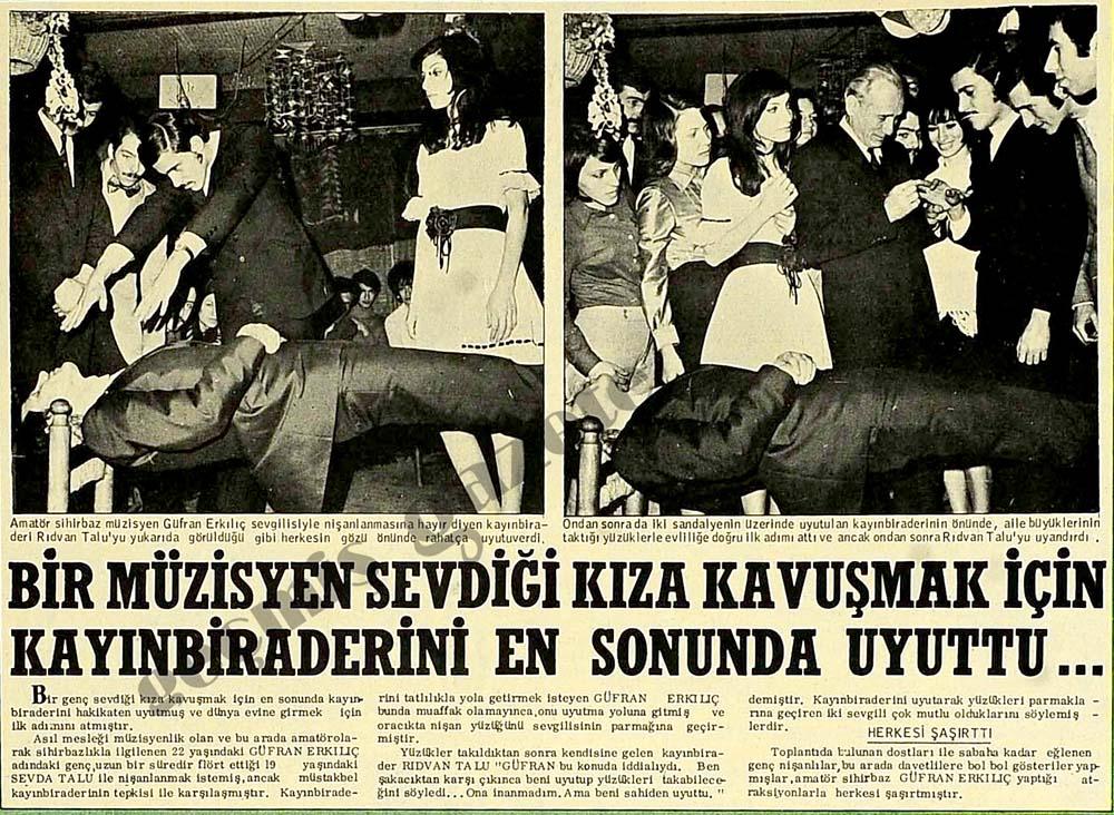 Bir müzisyen sevdiği kıza kavuşmak için kayınbiraderini en sonunda uyuttu...