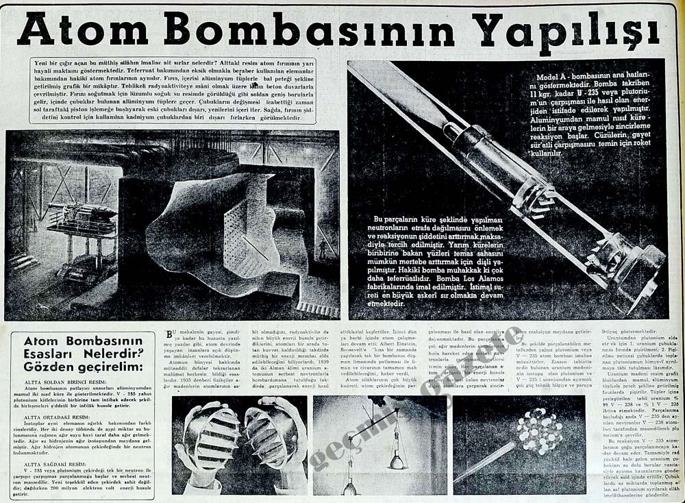 Atom Bombasının Yapılışı