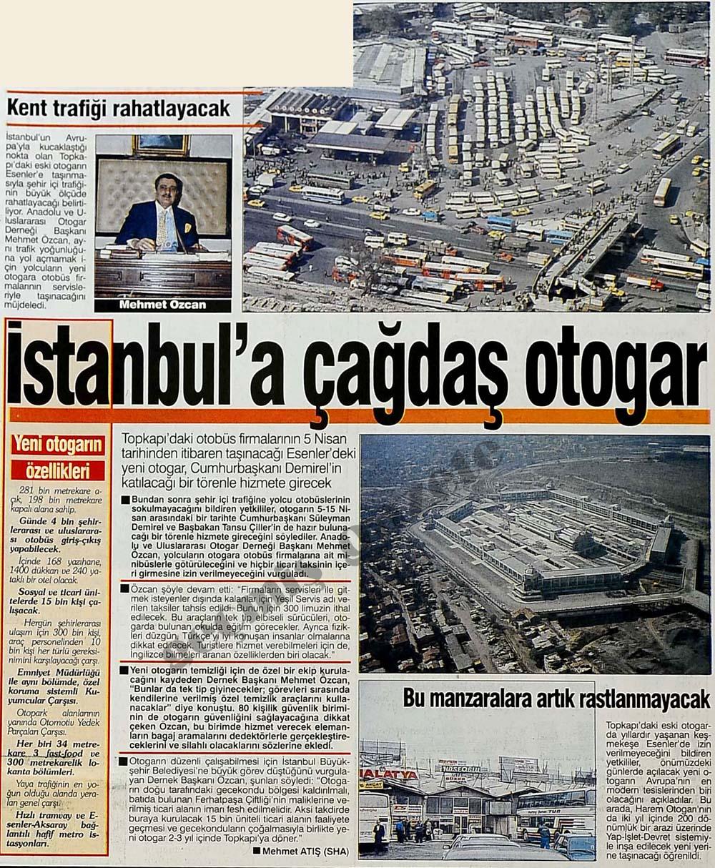 İstanbul'a çağdaş otogar